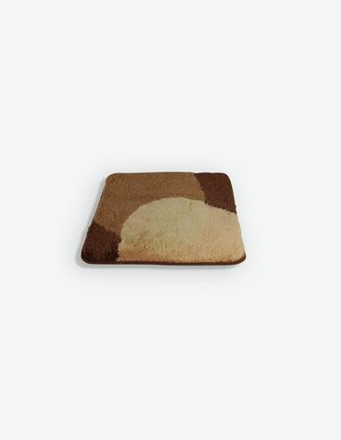 Elsa - Tappeto da bagno marrone, disponibile in diverse misure