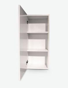 Blanco - Wandschrank in weiß - Detail