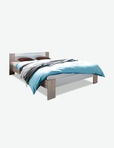 Pinturas - Französisches Bett, Polyschaum-Matratze und Rollrost inklusive