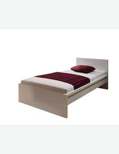 Melitta - Bett in Holzdekor,  in verschiedenen Größen erhältlich