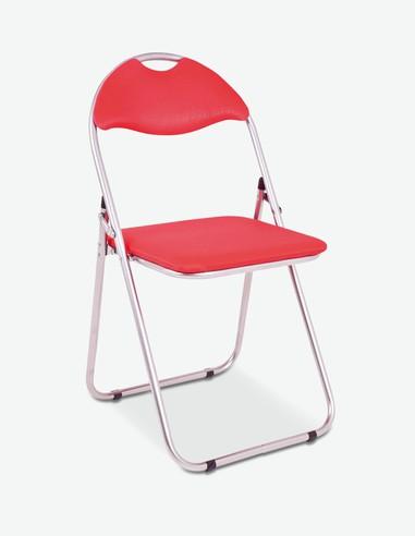 Shake - Klappstuhl aus Kunststoff / Stahl - rot