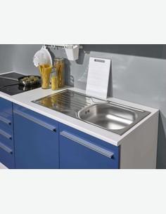 Universal - Einbauspüle in Küche eingebaut
