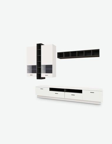 Pareti attrezzate soggiorno - Alba - Acquista on line - Consegna Gratis