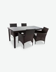 Arona - Set completo di mobili da giardino - senza decorazione