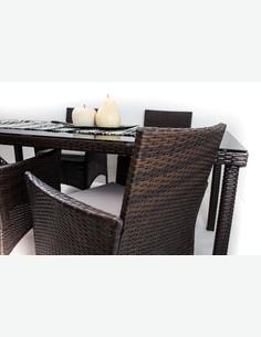 Arona - Set completo di mobili da giardino - dettaglio 4