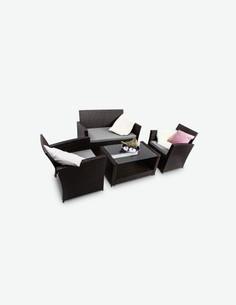 Andora - Schönes Lounge-Set - Komplett