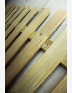 Manuel - Recinto in legno - dettaglio