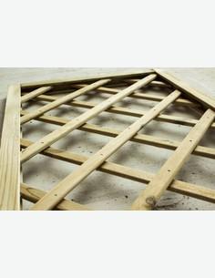 Ermes - Pannello grigliato in legno - dettaglio