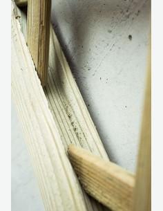 Ermes - Rankgitter aus Holz - Detail