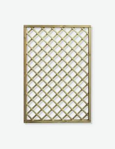 Ermes - Pannello grigliato in legno - ritagliato 3
