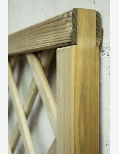 Ermes - Pannello grigliato in legno - dettaglio 3