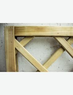 Cremona - pannello salvavista in legno - dettaglio