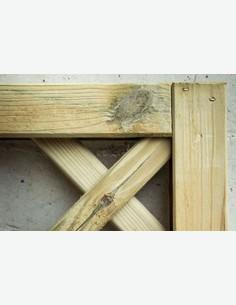 Cremona - Pannello salvavista in legno - ritagliato