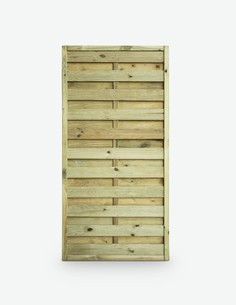 Pannello frangivista in legno massiccio