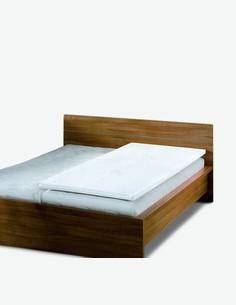 Topper - Matratzenauflage mit viscoelastischen Kern und Doppeltuchbezug, waschbar. In zwei Maßen erhältlich.