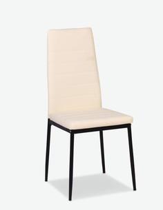 Simon - Modern und elegant, Stuhl aus Kunstleder, sehr komfortabel - Frontansicht