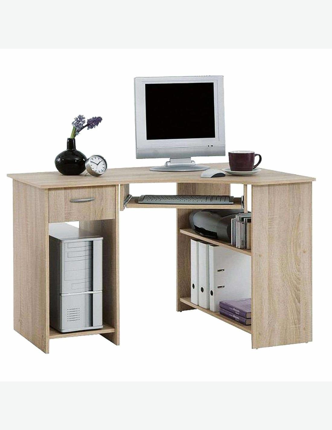 Schreibtisch aus eiche dekor for Schreibtisch eiche dekor