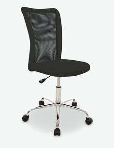 Miguel - Sedia ufficio girevole - in vari colori - nera