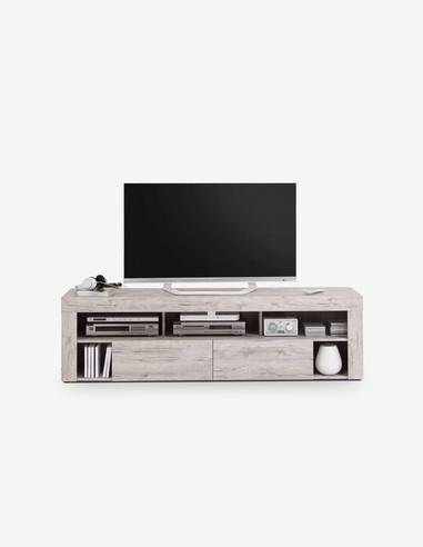 Vabo - TV-Unterteil aus Sandeiche Dekor - freigestellt