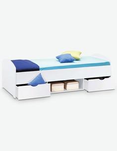 Nemu - Jugend/Kinderbett aus Holzdekor