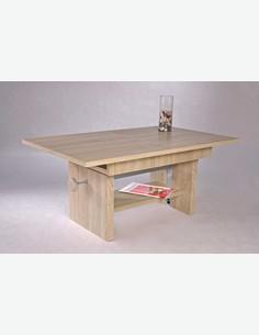 Evento - Tavolino da soggiorno in legno truciolato di colore quercia Sonoma