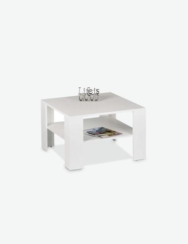 Jelli mini - Tavolino da soggiorno con 1 ripiano, in legno laminato, disponibile in 2 diversi colori
