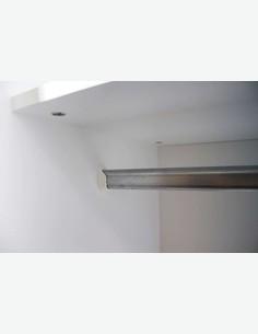 Balu 2 - Kleiderschrank weiß, 2 Türen