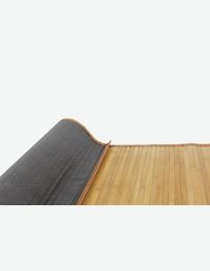 Dana - Bambusteppich - Farbe verkohlt - in verschiedene größen - Detail