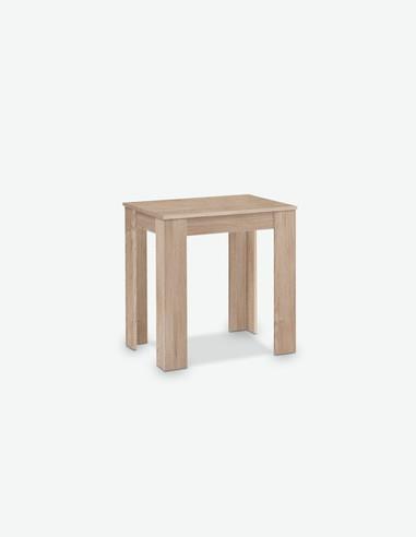 Revelo 1 - Piccolo tavolo da cucina in quercia Sonoma d'imitazione
