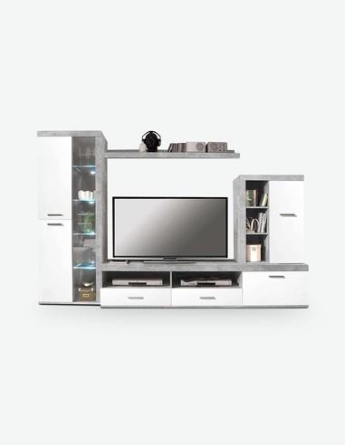 Pareti attrezzate soggiorno - Cubo - Acquista on line - Consegna Gratis