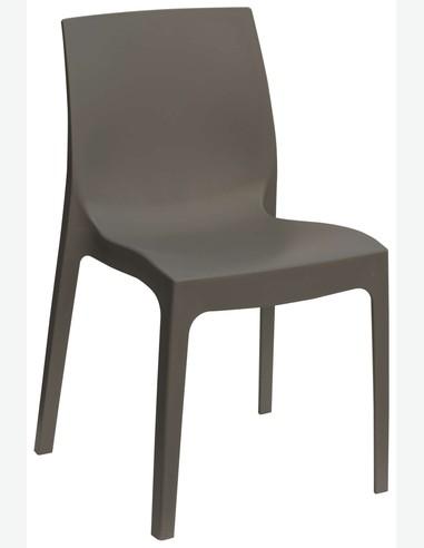 Sedie Plastica Per Giardino.Milis Sedie Da Esterno