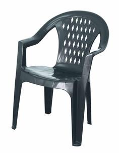 Giba - Stapelbarer Stuhl aus Kunststoff in der Farbe anthrazit