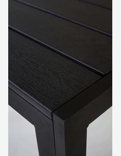 Limana - Garten- / Balkontisch mit Metallgestell und Polywood Oberfläche