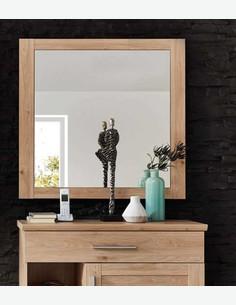 Carlotta - Spiegel aus Holzdekor in der Farbe Eiche Jackson