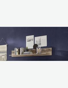 Irrel - Mensola da muro in legno laminato