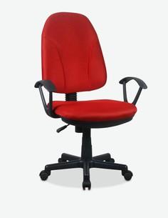 Alano - Drehbarerer und höhenverstellbarer Bürostuhl, aus Mesh mit gepolstertem Sitz- und Rückenlehne