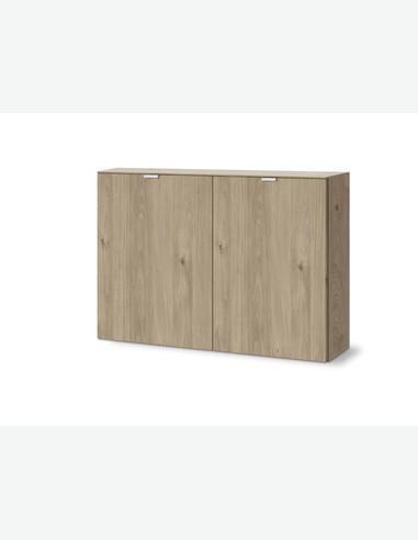 Edition - Kommode mit 2 Türen, aus Holzdekor