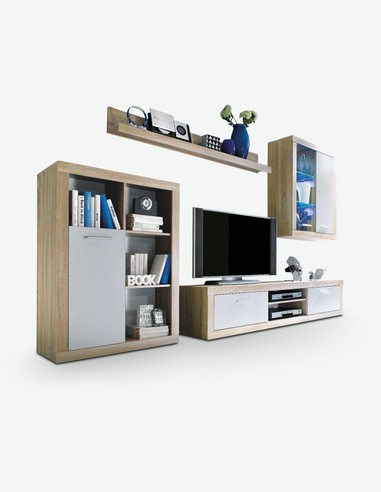 Pareti attrezzate soggiorno - Mero - Acquista on line - Consegna Gratis