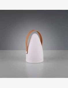 Holy - LED Tischlampe aus weißem Kunststoff