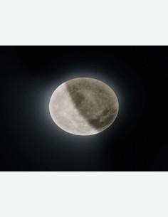 Mond - Plafoniera in stile lunare in plastica sintetica