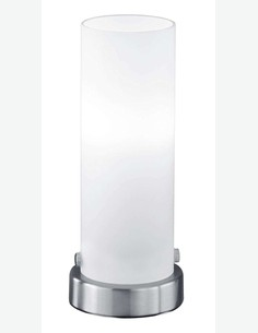 Estelle - Touch LED-Tischleuchte aus mattem Nickelstahl