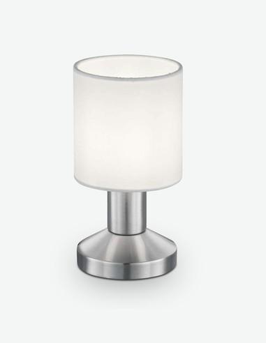 Gaby - Touch LED-Tischleuchte aus Metall in der Farbe Nickel matt