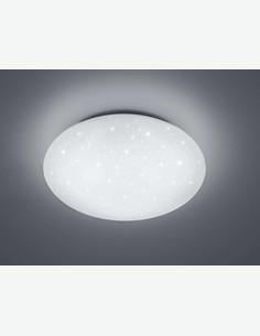 Ludovica - Plafoniera a LED, disponibile in 2 colorazioni diverse