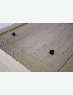 Vito - Buchregal mit 1 Fach, aus Holzdekor in Eiche San Remo