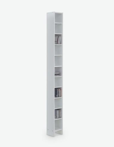 Duno - Scaffale in lego truciolato con 11 ripiani, ideale per ufficio e soggiorno