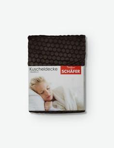 Piumo - Coperta marrone in poliestere, soffice e morbida, ideale per il soggiorno o per la stanza da letto