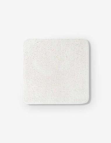 Micro - Tappetino da bagno monocolore in 100% poliestere, disponibile in diversi colori