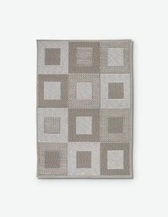 Levina - Kurzhaariger Teppich aus 100 % Polypropilen in der Farbe braun / beige
