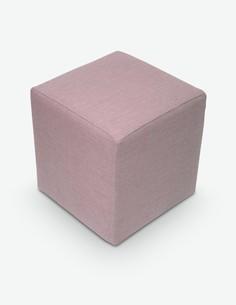 Bruni - Sitzwürfel aus Mikrofaser mit Kunststofffüße