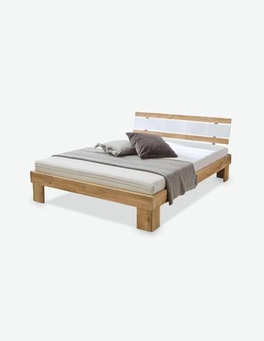 Jacub - Letto Futon in legno laminato con materasso a molle e rete a doghe comprese